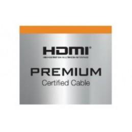 CORDON HDMI PREMIUM HIGHSPEED AVEC ETHERNET -1M